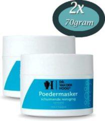 Dr Van der Hoog 2x Dr Vd Hoog Poedermasker schuim reiniger (70 gram)