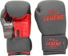 Legend Sports Bokshandschoenen LegendClima & Protect Mat zwart/Rood 16 oz