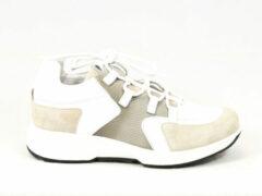 Witte Xsensible Stretchwalker Vrouwen Leren Sneakers - 30207.3 perf - 38