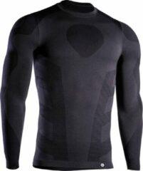 Iron-ic Sportshirt Thermo Heren Polyamide Zwart Maat S/m