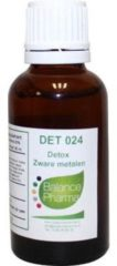 Balance Pharma DET024 Zware metalen detox 30 Milliliter
