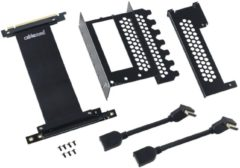 Cablemod Vertical PCI-e Bracket, 2x DisplayPort, Einbau-Kit