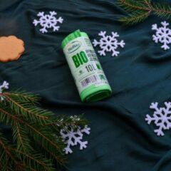 Groene Print equipment 20 x BIOBAG biologisch composteerbare | afbreekbare vuilniszakken | gft afvalzakken 10 L