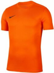 Nike Park VII SS Sportshirt - Maat 140 - Unisex - oranje
