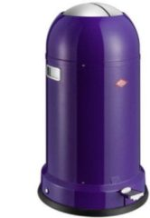 Paarse Wesco Kickmaster Classic Line Soft Afvalemmer 33 Liter - Indigo