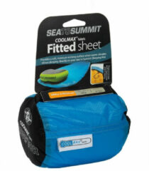 Sea To Summit Coolmax Fitted Large Hoeslaken Blauw