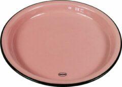 CABANAZ - bord, keramiek, MEDIUM PLATE, roze