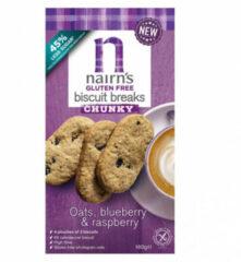 Nairns Breakfast biscuit blueberry & raspberry 160 Gram