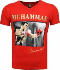 Rode T-shirts Mascherano T-shirt - Muhammad Ali Glossy Print