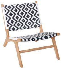Outdoor-Stuhl, Natur/Weiß IMPRESSIONEN living natur/weiß