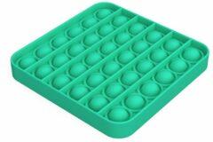 Merkloos / Sans marque Pop it Fidget Toy- Bekend van TikTok - Vierkant- Groen