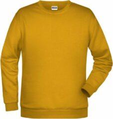 James & Nicholson James And Nicholson Heren Basis Sweatshirt (Goudgeel)