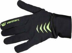 Vermarc Sports Fietshandschoenen Vermarc Roubaix Zwart/Geel - Maat: L/XL, Kleur: Zwart