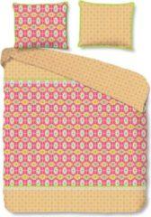 Roze Happiness Dekbedovertrek Hapiness Katoen-percal no.8060 - Oranje - Zosia Maat: 140x220cm