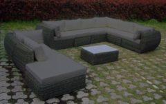 Baidani Rundrattan Garten Lounge Majesty Select