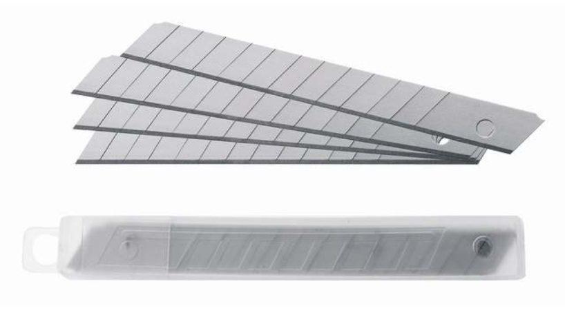 Afbeelding van Westcott vervangmesjes voor cutter 84000, 9 mm, 10 mesjes