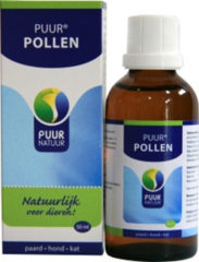 Puur Natuur Pollen - Supplement - Luchtwegen - 50 ml