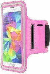 Qatrixx HTC One M7 sports armband case Licht Roze Light Pink