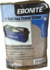 Blauwe Ebonite Bowlingtas Double 'Travelcover'