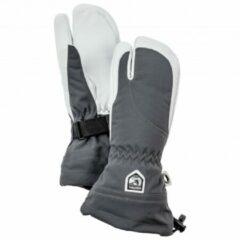 Hestra - Women's Heli Ski 3 Finger - Handschoenen maat 6, grijs/zwart