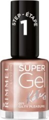 Rimmel London Rimmel SuperGel Nailpolish by Kate - 71 Guilty Pleasure - Nagellak