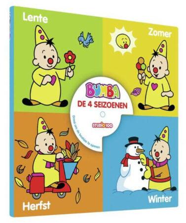 Afbeelding van Studio 100 Kartonboek 4 In 1 Bumba: De 4 Seizoenen