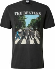 Amplified shirt the beatles abbey road Donkergrijs-Xl