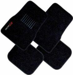 Anders Set van 4 tapijten tapijt zwart RS Racing borduurwerk
