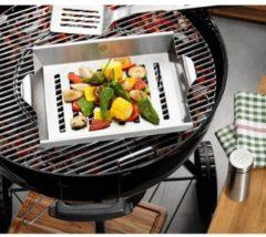 Gemüse- und Hähnchengriller mit Schaschlik-Rack BBQ GEFU Edelstahl