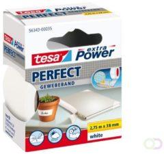Tesa 56343-00035-02 Textieltape tesa Extra Power Wit (l x b) 2.75 m x 38 mm 1 rol/rollen