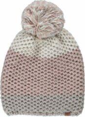 Sarlini Muts dames - Muts dames pompon - Winter - Gebreid - One size - Licht roze - Ski