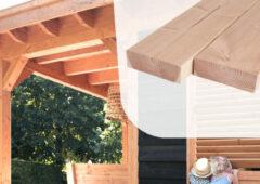 Woodvision Douglas gording | 70 x 220 mm | Sc. 500 cm