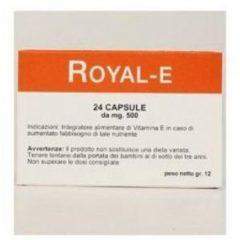 SO.GI.PHARMA ROYAL E 24 CAPSULE 24 cps 500MG Integratore alimentare di Vitamina E SOGIPHARMA