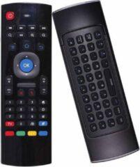 Zwarte MX3 Air Mouse - Draadloos USB toetsenbord voor Android Tv Box