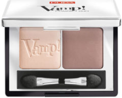 Beige Pupa milano Pupa Vamp! Compact Duo Eyeshadow 005 Milk Chocolate