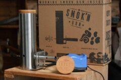 Grijze Smok'n gun made by Smokey Bandit bbq