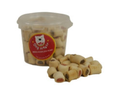 Dog treatz merg koekjes rund 370 gr 870 ml