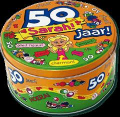 Paper dreams Snoeptrommel - 50 jaar Sarah