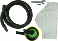 JBM Tools | Set van pneumatische vlak schuurmachine incl stof opvang zak