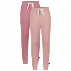 Minymo - Kid's Basic 37 Sweat Pants (2-Pack) - Trainingsbroek maat 98, beige/roze/grijs