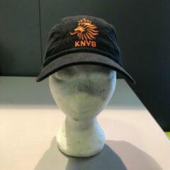 Oranje Nike zwarte KNVB fleece cap voor volwassen (12 jaar en ouder)