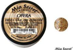 Gouden Mia Secret Fiesta Acrylpoeder Opera
