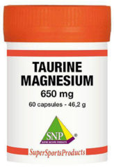 SNP Taurine 325 mg Magnesium 325 mg - Puur 60 Capsules