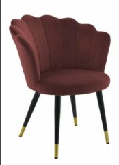 Collectione Eetkamerstoel Florence Rood