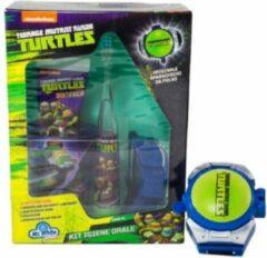 Groene Mr. White Teenage Munant Ninja Turtles Giftset - Tandenborstel - Beker- tandpasta- originele pols shooter