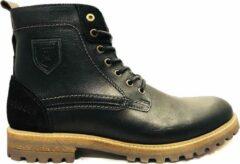 Pantofola doro Zwarte Pantofola d'Oro Veterschoenen Pozano High