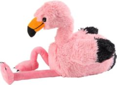 Roze Greenlife Value GmbH Warmies Warmteknuffel Flamingo