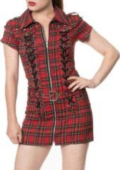 Banned Korte jurk -M- MOD Rood