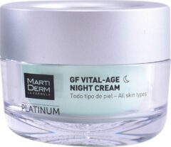 Martiderm PLATINUM GF VITAL AGE nachtcrème Verstevigende gezichtsbehandeling