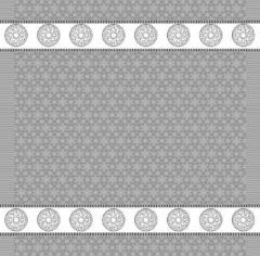Grijze DDDDD Lace Theedoek (6 Stuks) - 60x65 cm - Grey